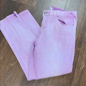 Free People lavender jean. Size 30